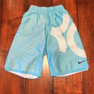 Nike Dri-FIT Big Kids' Printed Basketball Shorts